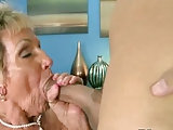 Fetter Pimmel für Großmutter