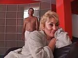 Feuchte BBW Grannie