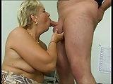 Frau Berger in den Arsch gefickt