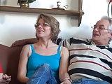Altes Ehepaar beim Sex gefilmt