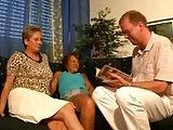 Angie, Gerda und Hans Werner