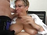 Dreier mit Sekretärin Angie
