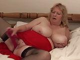 Geile Titten Oma Fiona