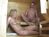 Geiler Fick in der Sauna