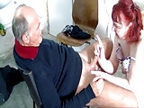 Opa und die reife Nachbarin