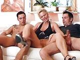 Dreier mit dem Ehemann und dem Liebhaber
