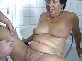 Frisch gewaschen für die Mama