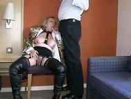 Oralsex im Hotel mit Granny Jasmine