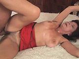 Eine super sexy Frau im besten Alter