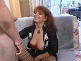 Geile Rothaarige beim Sexcasting