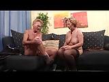 Opa wird von Frau Schulz zum Fick eingeladen