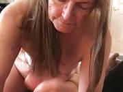 Alte Oma Schluckt Sperma