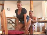 Reifes Ehepaar treibt es spontan