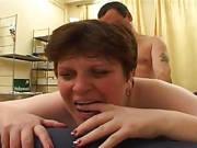 Wilder Quickie mit einer moppeligen Frau
